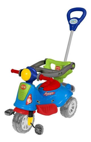 Carrinho De Passeio Ou Pedal Infantil Triciclo Avespa Maral