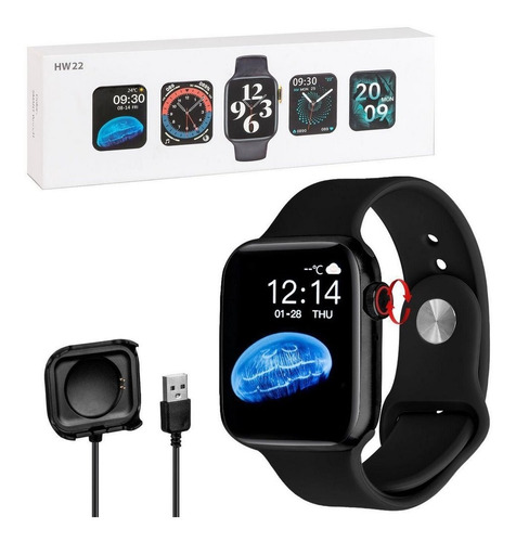 Relógio Smartwatch Hw22 Tela Hd Resistente A Água Original