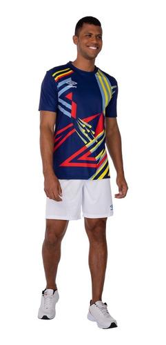 Camiseta Umbro Twr Manchester Azul Marinho 92 883479