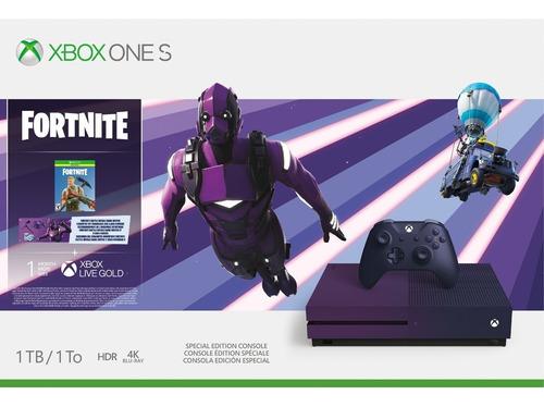 Microsoft Xbox One S Fortnite Ed. Especial 1 Tb