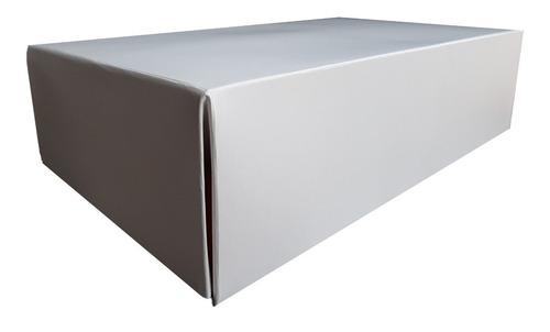 10 Cajas Blancas Para Empaque Domicilios Zapato 17 X 31 X 10