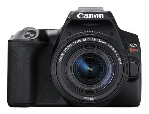 Câmera Canon Sl3 C/ Lente 18-55m F/ 4-5.6 Is Stm Lançamento