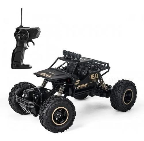 Carrinho Controle Rem Metal Crawler 4wd Rally Car Esc 1:18