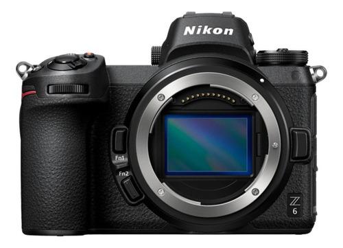 Nikon Z6 Sin Espejo Color  Negro