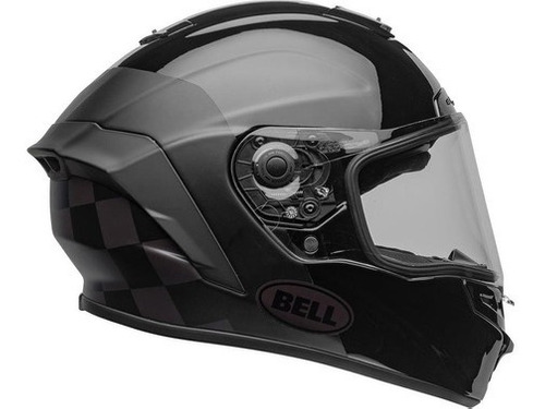 Capacete Bell Star Dlx Mips Lux Checkers Matte Gloss Root @