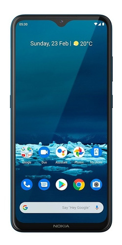 Celular Nokia Nk009 5.3 128gb Tela 6.5 Octa Core 4gb Verde