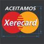 2 Adesivo Aceitamos Xerecard Mastercard 11x8cm Brinde