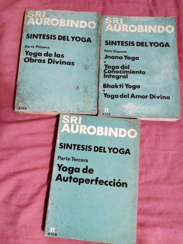 Sri Aurobindo Síntesis Del Yoga 3 Tomos