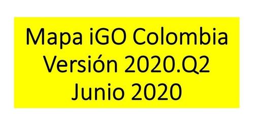 Mapa De Colombia Igo 2019q2 Pois, Edificios En 3d, Camaras