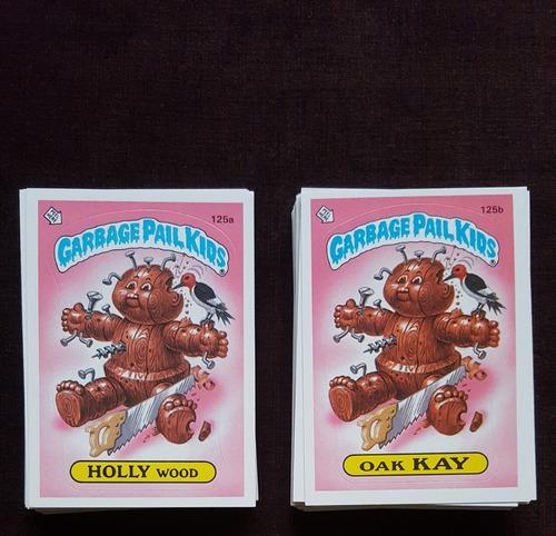 Cards Pandilla Basura Garbage Pail Kids 1986 Completo Topps.