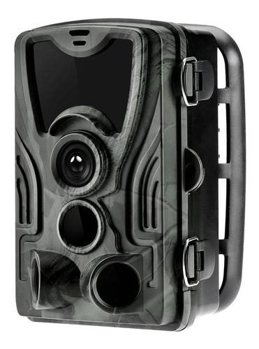 Câmera Trilha Infravermelho Trail Camera 1080p 16mp Hc-801a