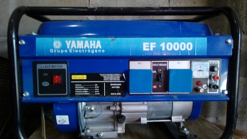 Generador Yamaha Ef 10000 9kba Un Solo Uso No Hago Envios