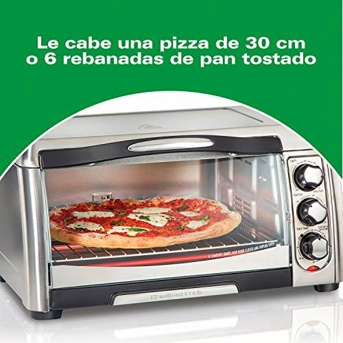 Toaster Oven With Air Fryer 6 Slices Stainless - Ecart