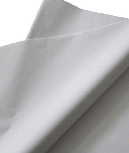 Papel De Seda 30x70 Branco Alvejado - 100 Folhas