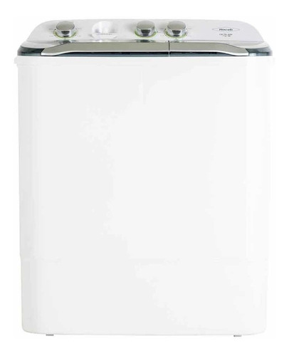 Lavadora Semiautomática De Doble Tina Haceb Lav Sa 0700  Blanca 7kg 120v