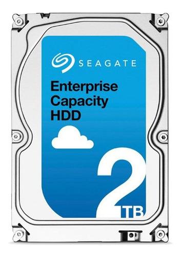 Disco Rígido Interno Seagate Enterprise Capacity St2000nm0055 2tb