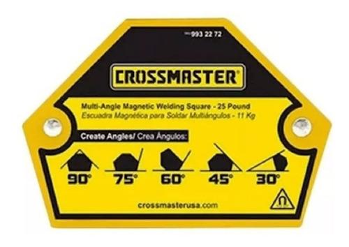 Escuadra Magnética Para Soldar Multiángulos 11kg Crossmaster