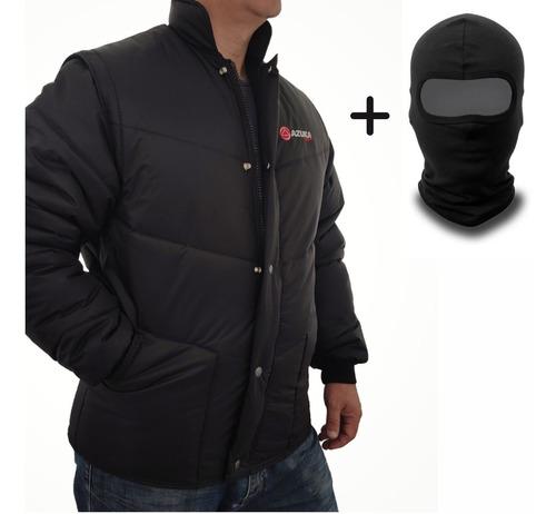 Jaqueta Moto Masculina De Motoqueiro Protege Do Frio E Vento