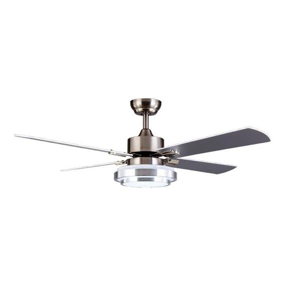 Ventilador Techo Airmax Platil C/ Luz Led 18w Control Remoto