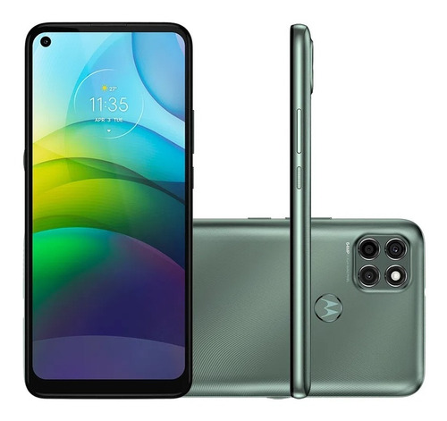 Celular Motorola Moto G9 Power Dual 128gb 4gb Ram Verde