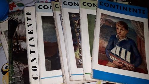 Antiguas Revistas Continente Varios Núm. Consultar En El Lis
