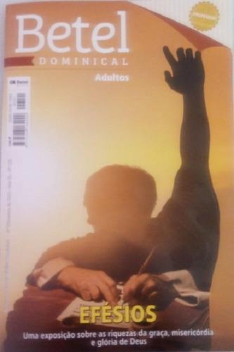 Revistas 4º Trim. Professor Adulto Editora Betel