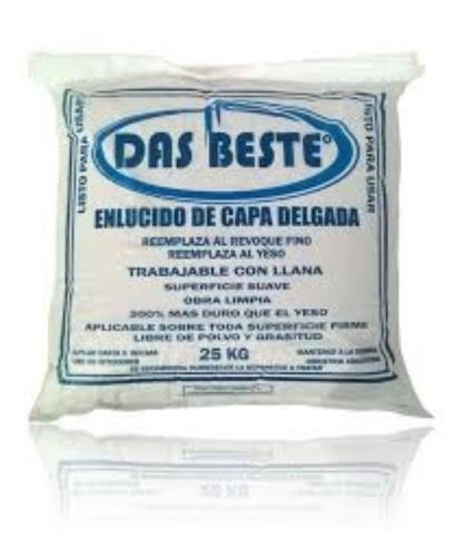 Enlucido Int. Capa Delgada Das Beste. Bolsa 25 Kg - Cuotas