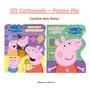 Kit Com 2 Livros Cartonados Peppa Pig
