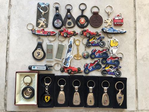 Colección Llaveros Autos Subaru Porsche Formula 1 Moto Gp