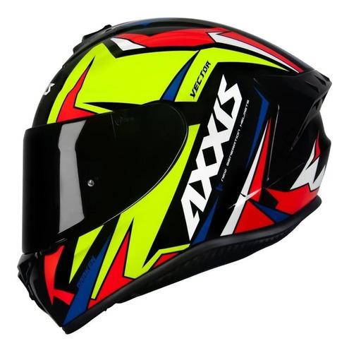 Capacete Axxis Draken Vector Masculino Feminino Moto