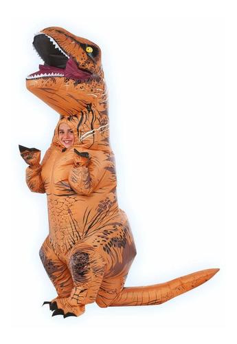 Disfraz Hinchable Jurassic World T-rex De Rubie Talla In