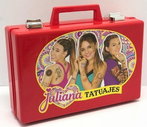 Valija Juliana Tatuajes Giro Didáctico, (envíos)