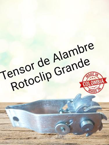 Tensor Alambre Rotoclip S/aislador Cerca Eléctrica Nacional