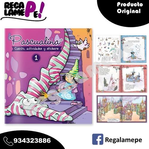 Pascualina Original Libro Cuento Actividades Stickers, Vol 1