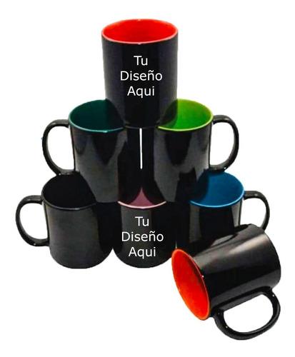 Mugs Magicos Personalizados Termico  Color Interno Regalos