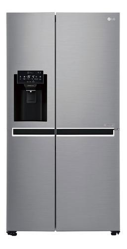 Geladeira Inverter LG Gc-l247slu Aço Escovado Freezer 110v