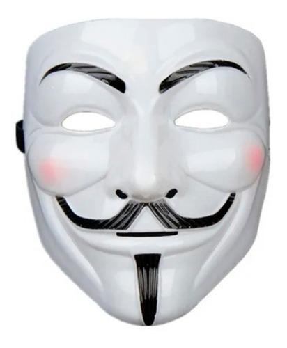 Mascara V De Vingança - Fantasia Anonymous - Cosplay