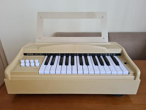 Mini Órgão Elétrico Piano Atma Estey - Funcionando 220v