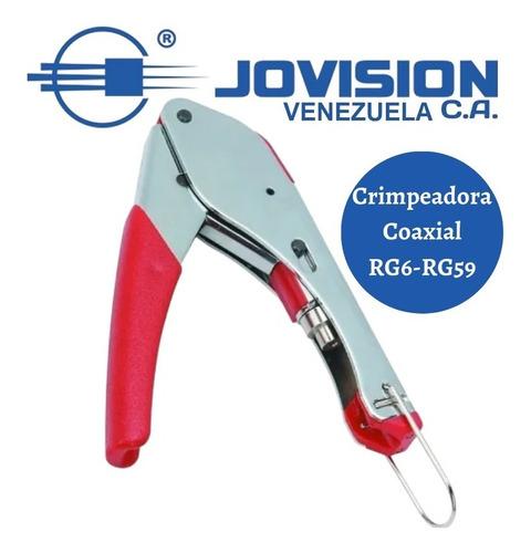 Crimpeadora Coaxial Para Conectores F, Rca, Bnc. Wireplus