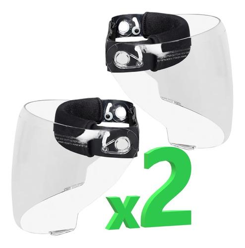Careta Medica Visor Medico Protector Facial Bioseguridad X2