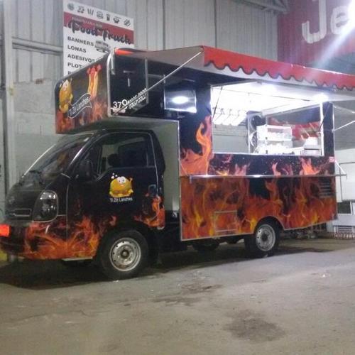 Food Truck Hr E Kia Padrão (montagem Sem O Veículo)