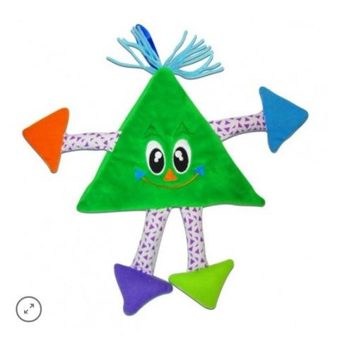 Livro Infantil De Pano Formas Triangulo Briquedo Bebê