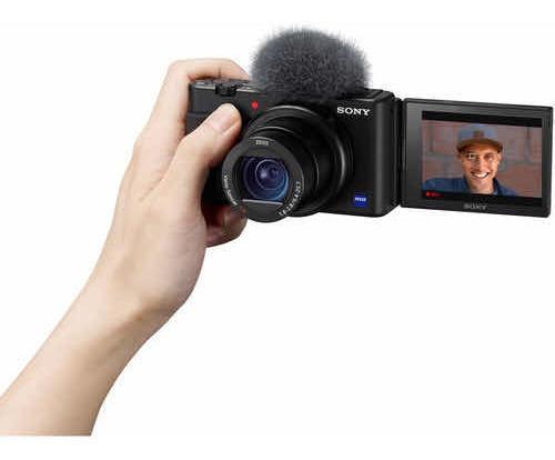 Sony Zv1 Vlog Câmera Youtube 4k (superior Rx100 A6600 A7iii)