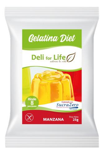 Gelatina Manzana Diet 8 Porc.
