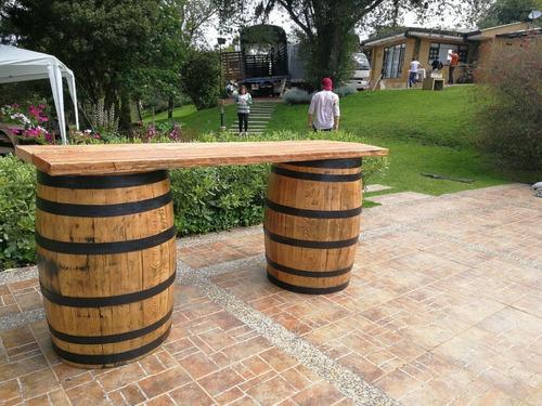 Barriles De Madera En Renta Para Fiestas Y Eventos