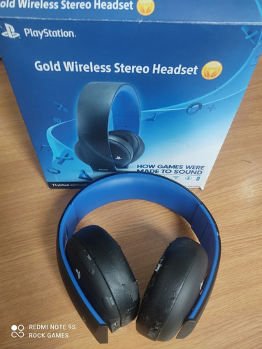 Headset Gold Wireless Ps4