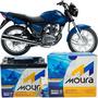 Bateria Pra Moto 150 Motocicleta Cg 150 Titan 150 Ks Moura