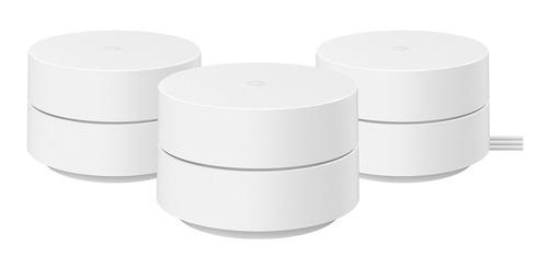 Google Wi-fi Roteador Mesh Ac1200 - 3 Unidades