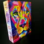Bíblia Sagrada Leão Colorido Capa Dura Feminina E Masculino