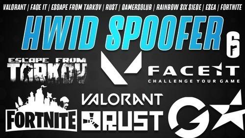 Hwid Spoofer - Funciona Em Eac/battleye/vanguard/faceit/cod